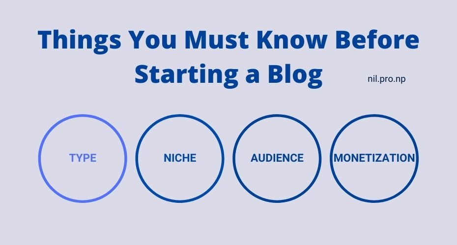 Things You Must Know Before Starting a Blog